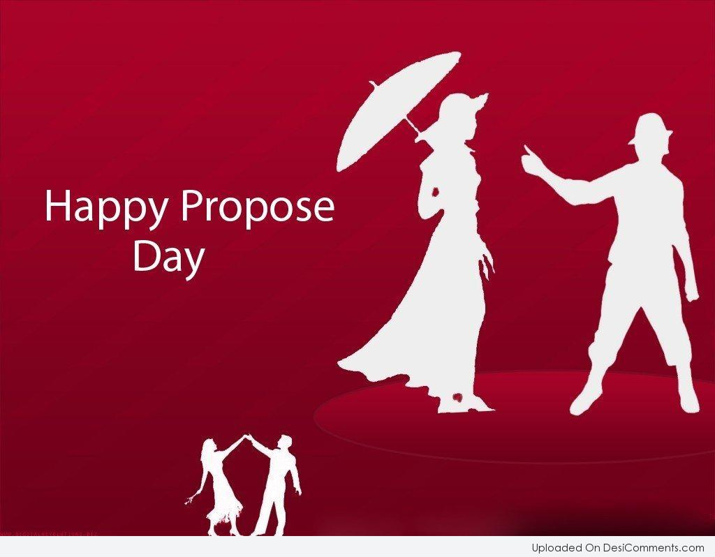 40 most beautiful propose day 2017 greeting cards happy propose day couple on greeting card kristyandbryce Images