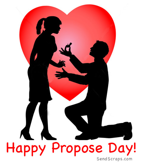 50 most beautiful happy propose day wish pictures - Boy propose girl with rose image ...