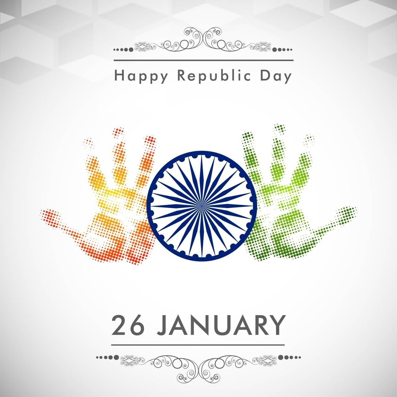 60 beautiful republic day india greeting card pictures happy republic day 26 january hand prints greeting card m4hsunfo