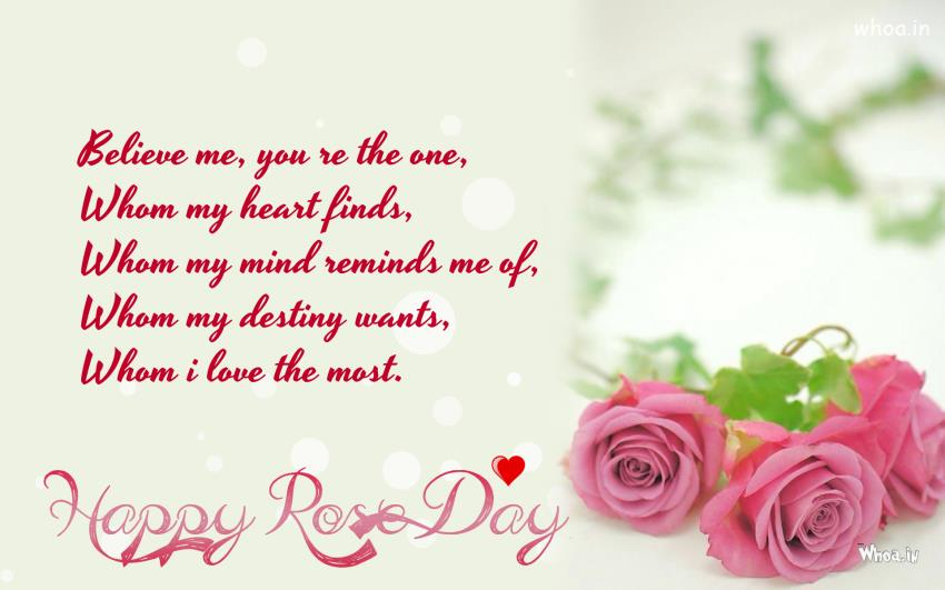Happy rose day greeting card for facebook m4hsunfo