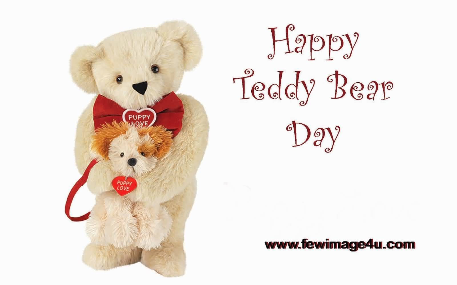Happy teddy bear day greeting card for share on facebook kristyandbryce Images