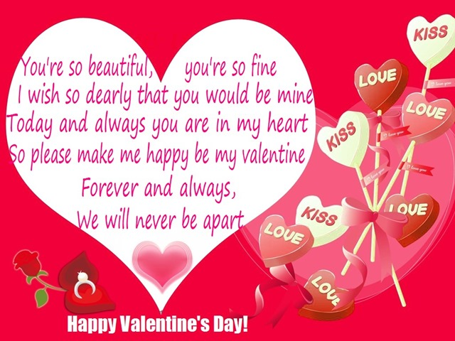 happy valentines day greetings picture - Valentines Greetings For Friends