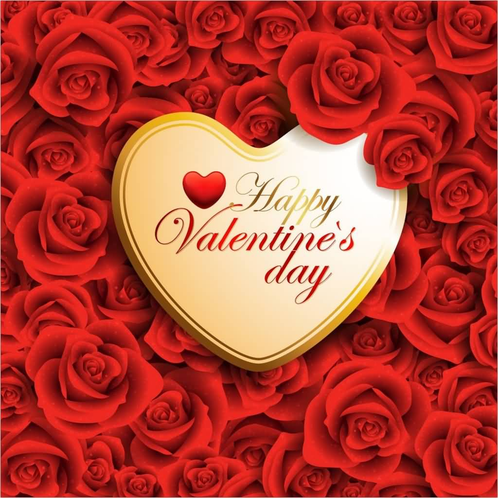 Happy valentines day flowers hearts startupcorner 70 most beautiful happy valentines day greeting pictures and images izmirmasajfo
