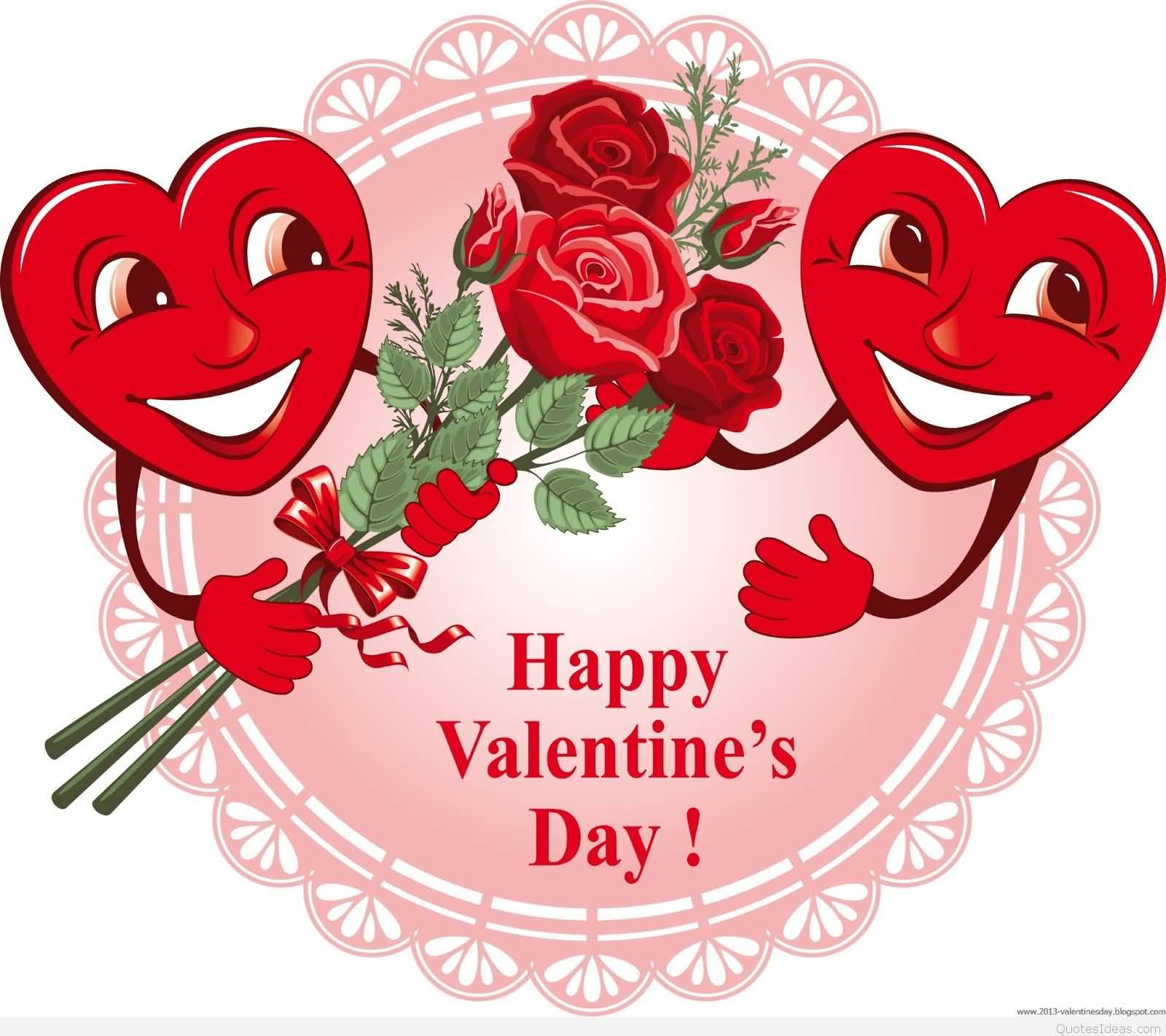 70 Most Beautiful Happy Valentines Day Greeting Pictures And Images