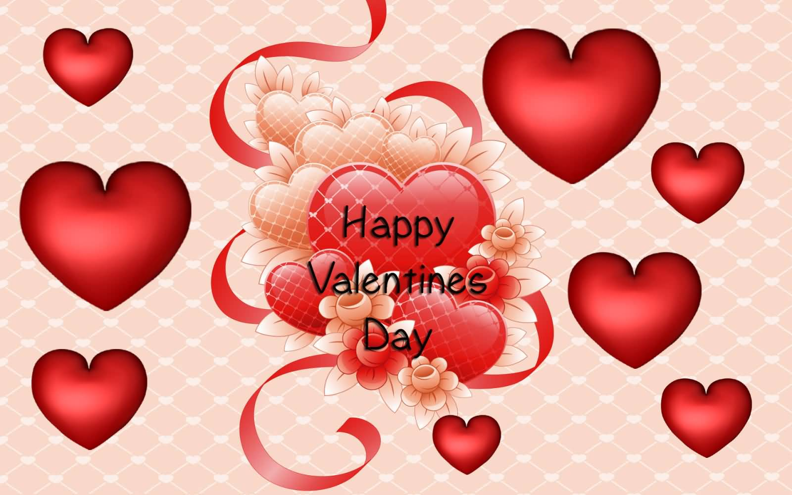 55 most beautiful valentine day wallpapers happy valentines day hearts wallpaper m4hsunfo