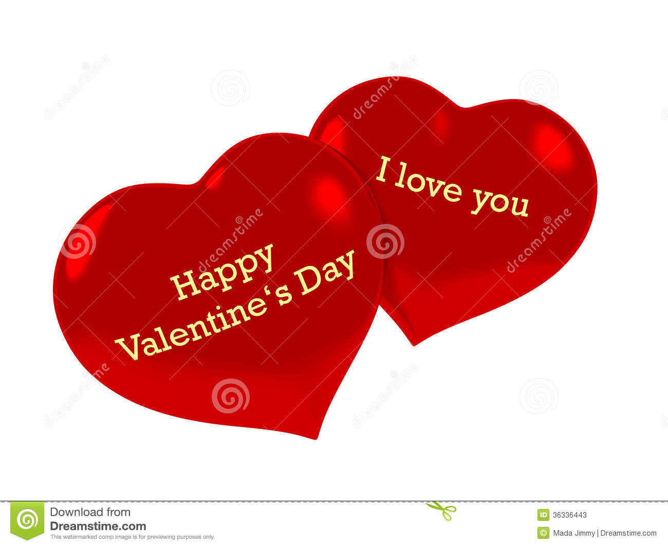 happy valentine's day i love you text on hearts
