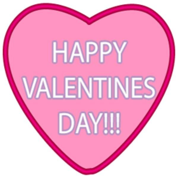 happy valentine s day pink heart clipart rh askideas com happy valentines day clipart black and white happy valentines day clipart download