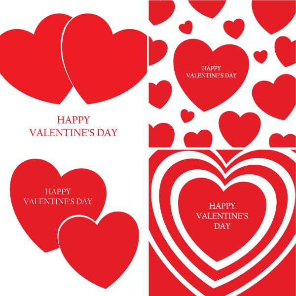 happy valentines day vector - Happy Valentine S Day