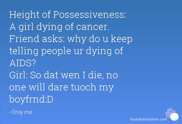 how to tell someone they are dying of cancer