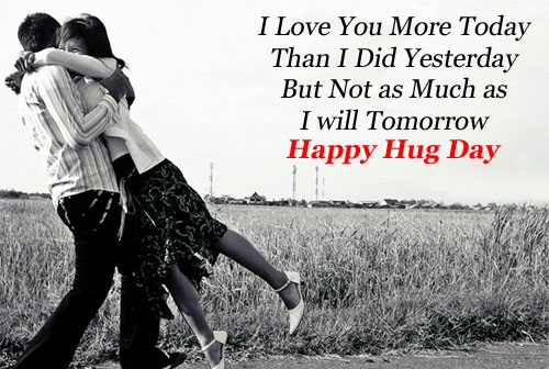 55 Happy Hug Day Greeting Card Pictures And Images