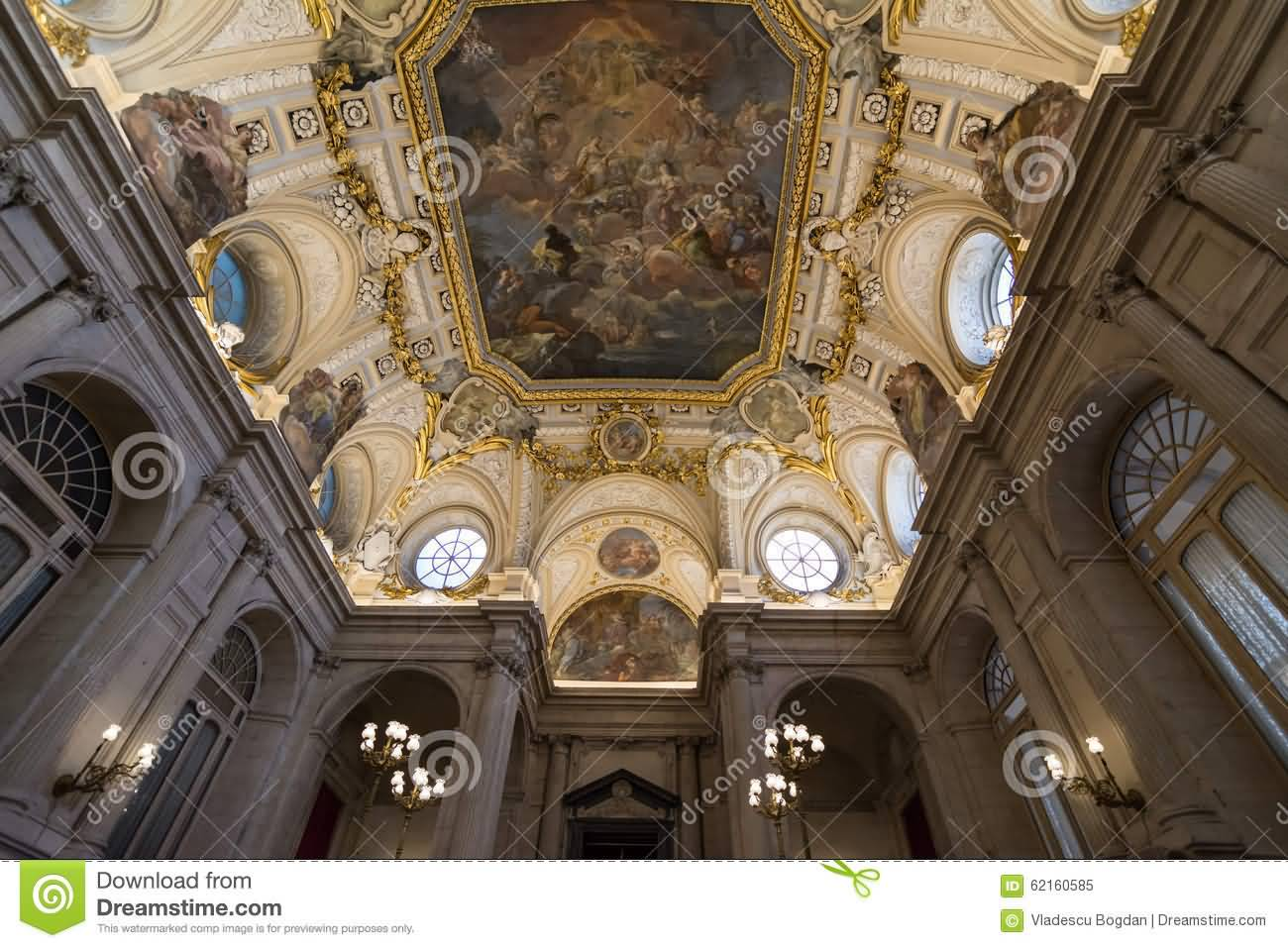 Interior Picture of The Royal Palace Of Madrid