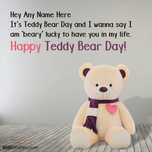 how to make a teddy bear come to life