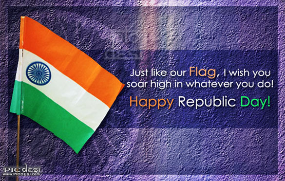 Just like our flag i wish you soar high in whatever you do happy just like our flag i wish you soar high in whatever you do happy republic day greeting card m4hsunfo