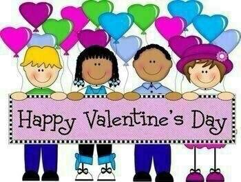 Kids Wishing You Happy Valentine S Day Clipart