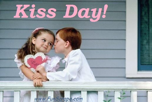 boy trying to kiss girl