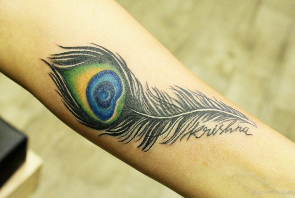 50 beautiful peacock feather tattoos ideas. Black Bedroom Furniture Sets. Home Design Ideas