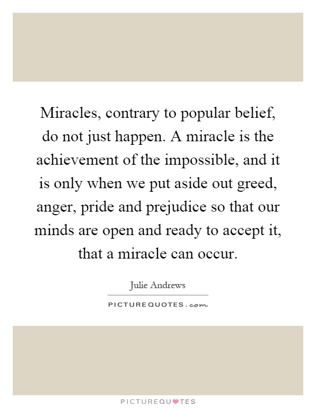 wishes miracles do happen essay