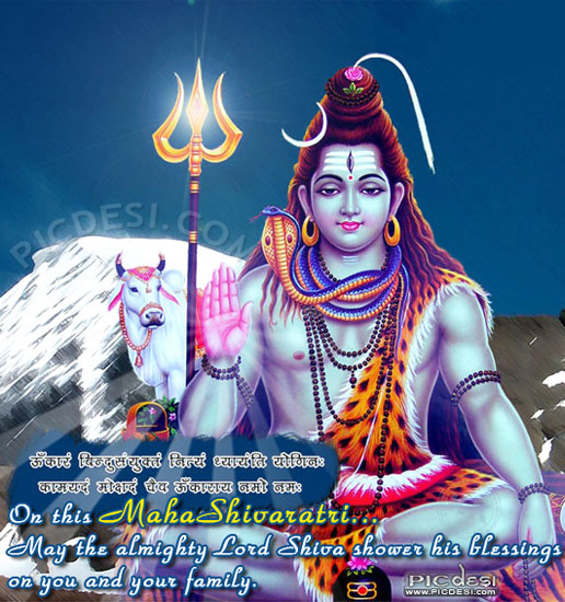 On This Maha Shivaratri May The Almighty Lord Shiva Shower His