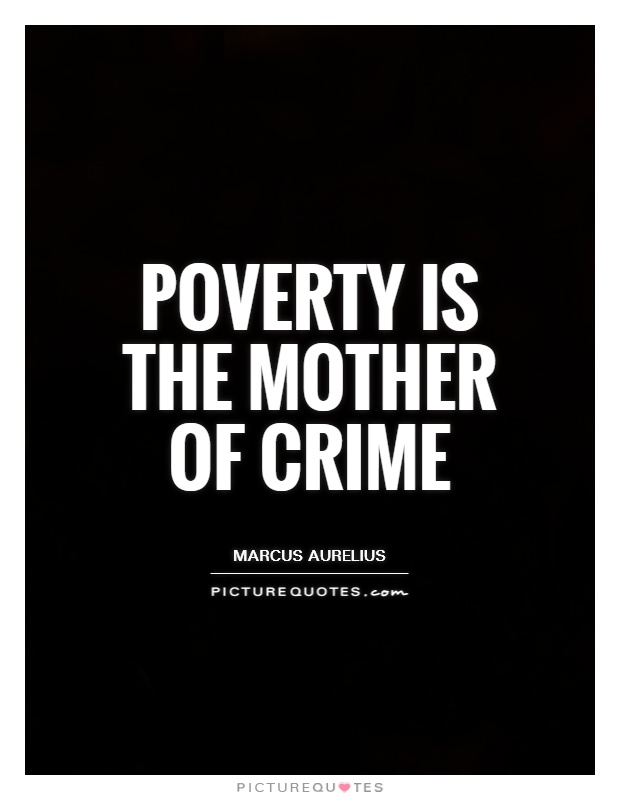 how is poverty related to crime essay