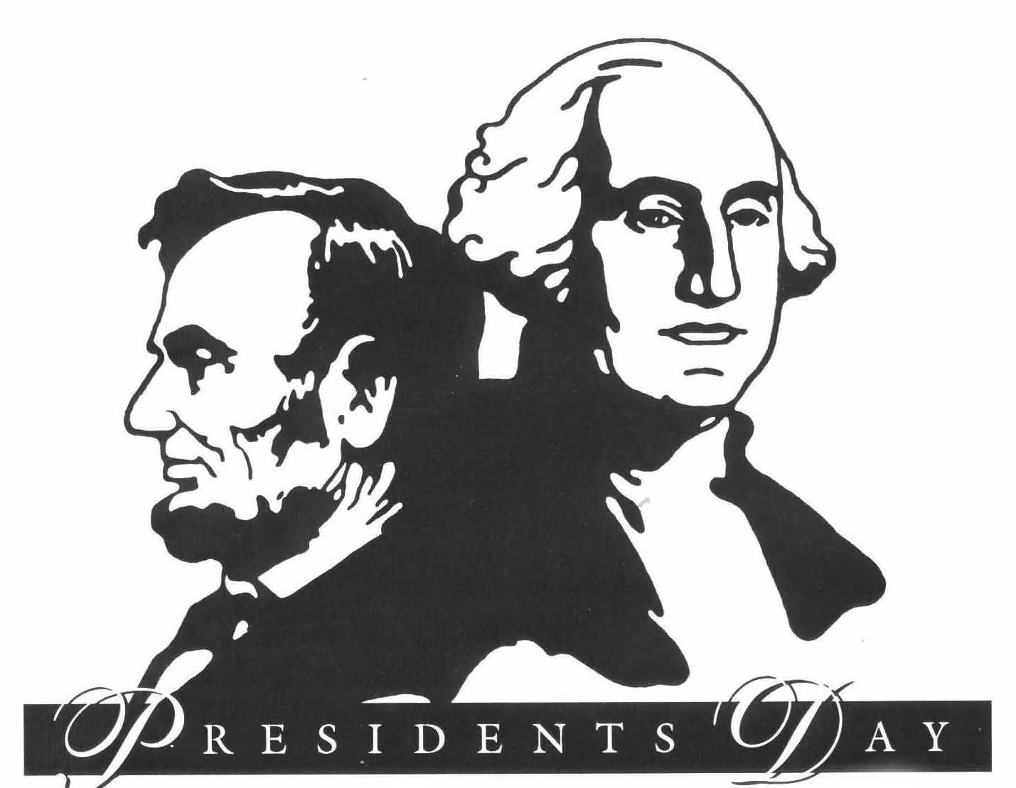 Presidents Day 2017 George Washington And Abraham Lincoln Clipart