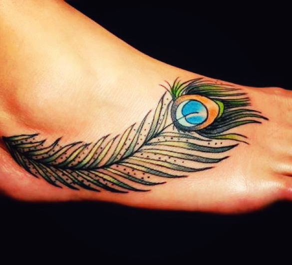 Peacock Tattoos Designs Ideas And Meaning: 36+ Peacock Feather Tattoos Designs And Pictures