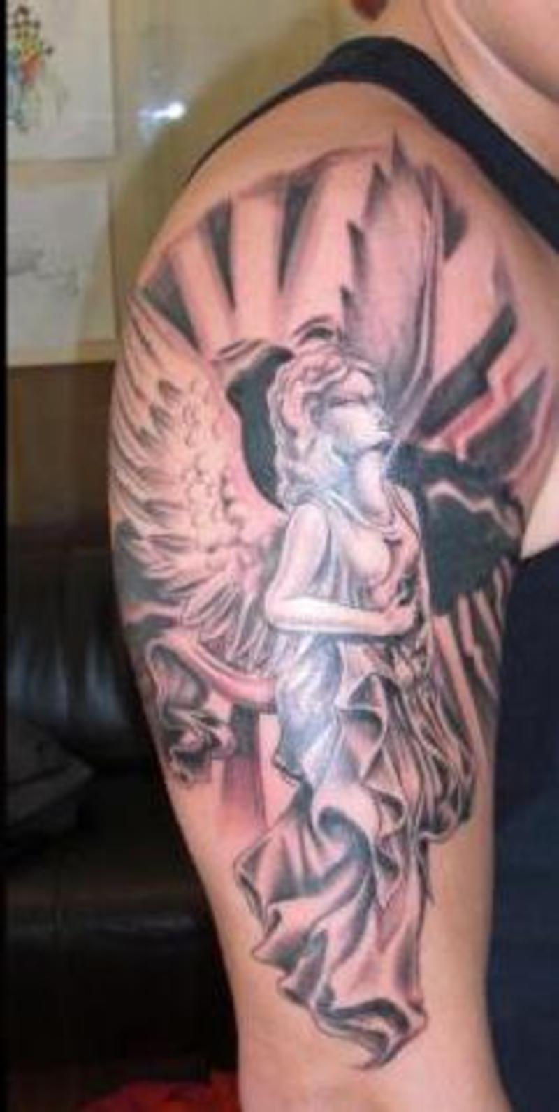 27+ Guardian Angel Tattoos Collection
