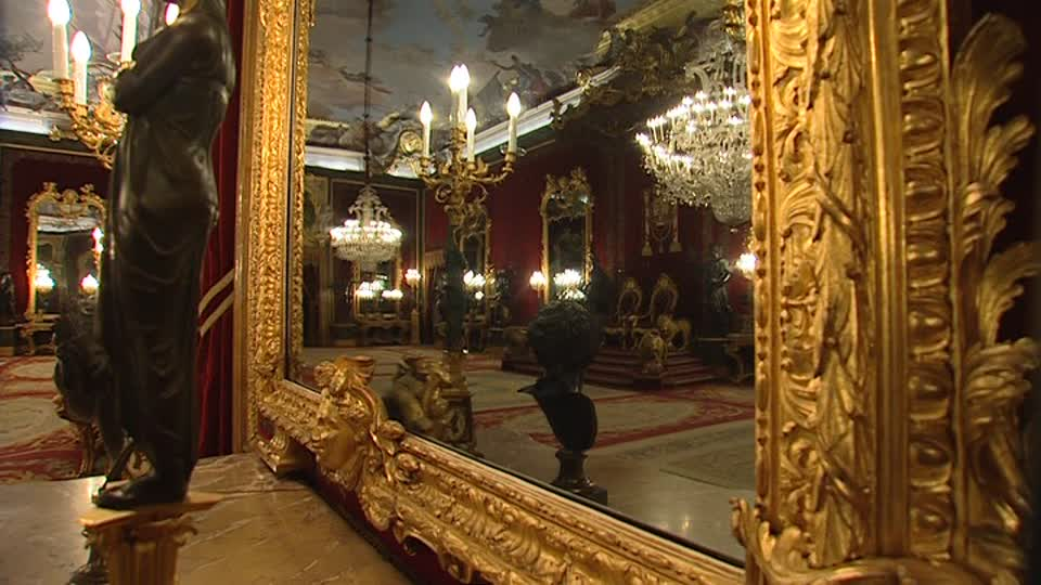 Room Inside The Royal Palace Of Madrid