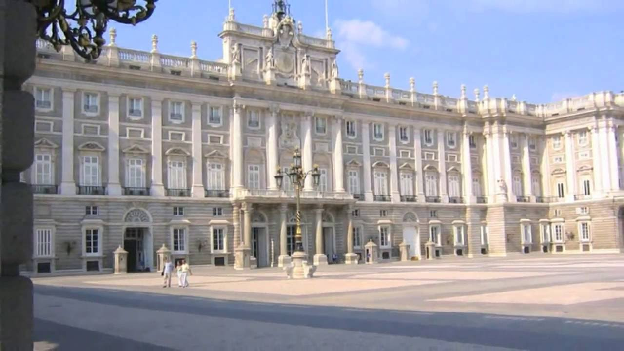 Royal Palace Of Madrid Side View