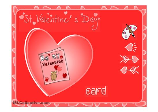 Saint Valentines Day Card – Saint Valentine Card