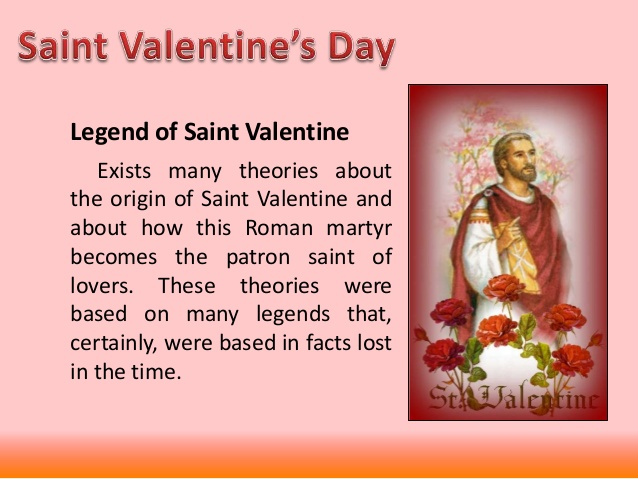 Today Valentine S Day History Who Was St Valentine Feb 14 2018
