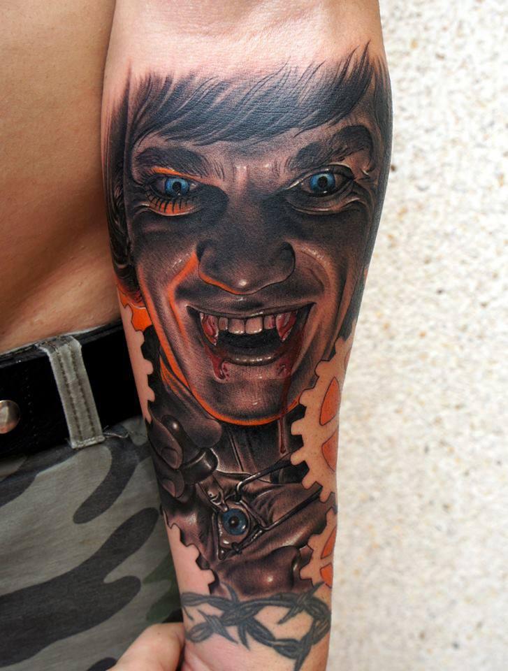 Vampira Tattoo 25+ Vampire Skull Tatt...
