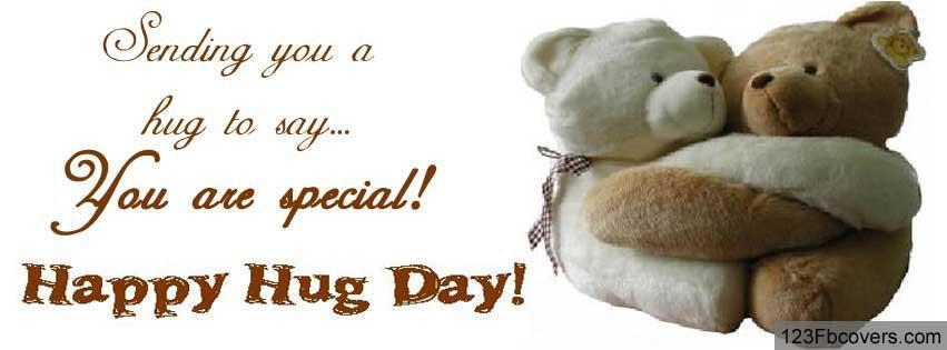 Sending You A Hug To Say You Are Special Happy Hug Day