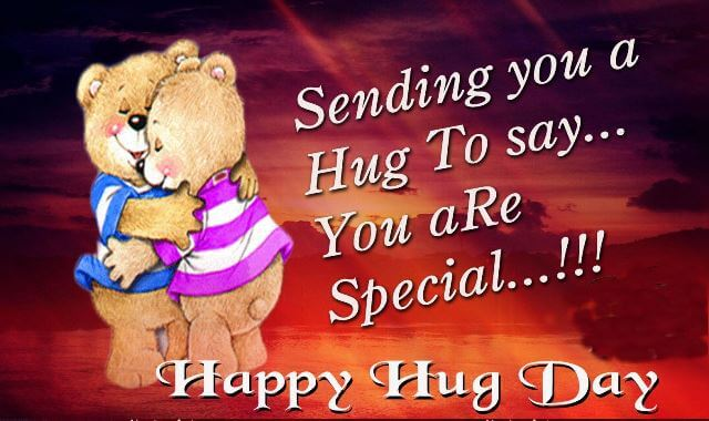50 most beautiful hug day wish pictures sending you a hug to say you are special happy hug day m4hsunfo