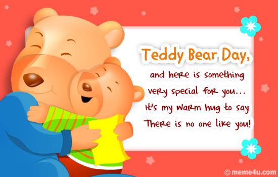 most beautiful teddy day greeting card pictures, Greeting card