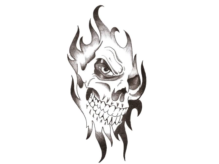 tribal skull tattoo design rh askideas com tribal skull tattoo ideas tribal skull tattoo