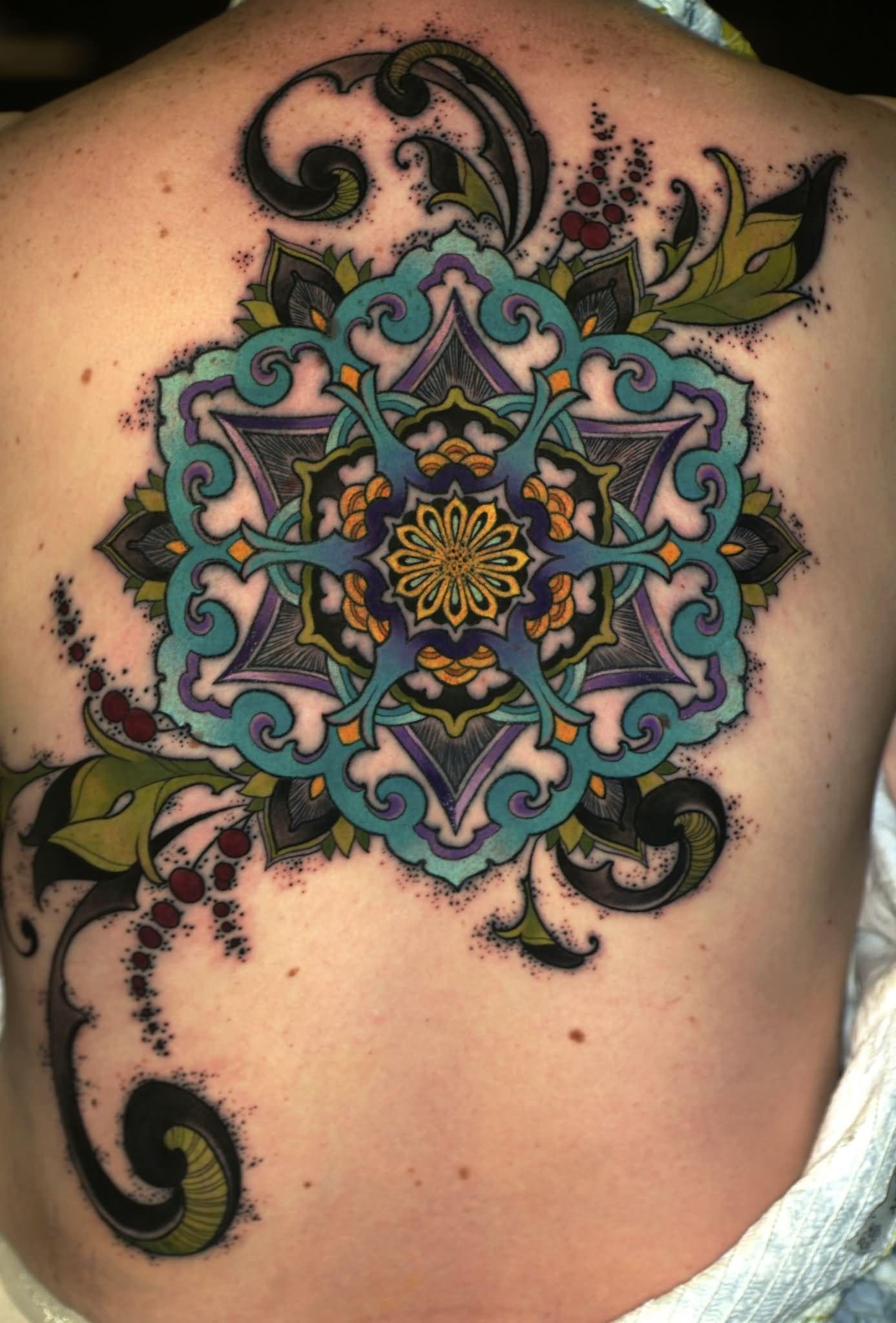 Watercolor Flower Tatt...