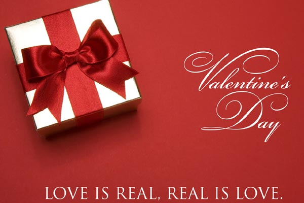 valentines day 2017 love is real real is love - Valentine Wish