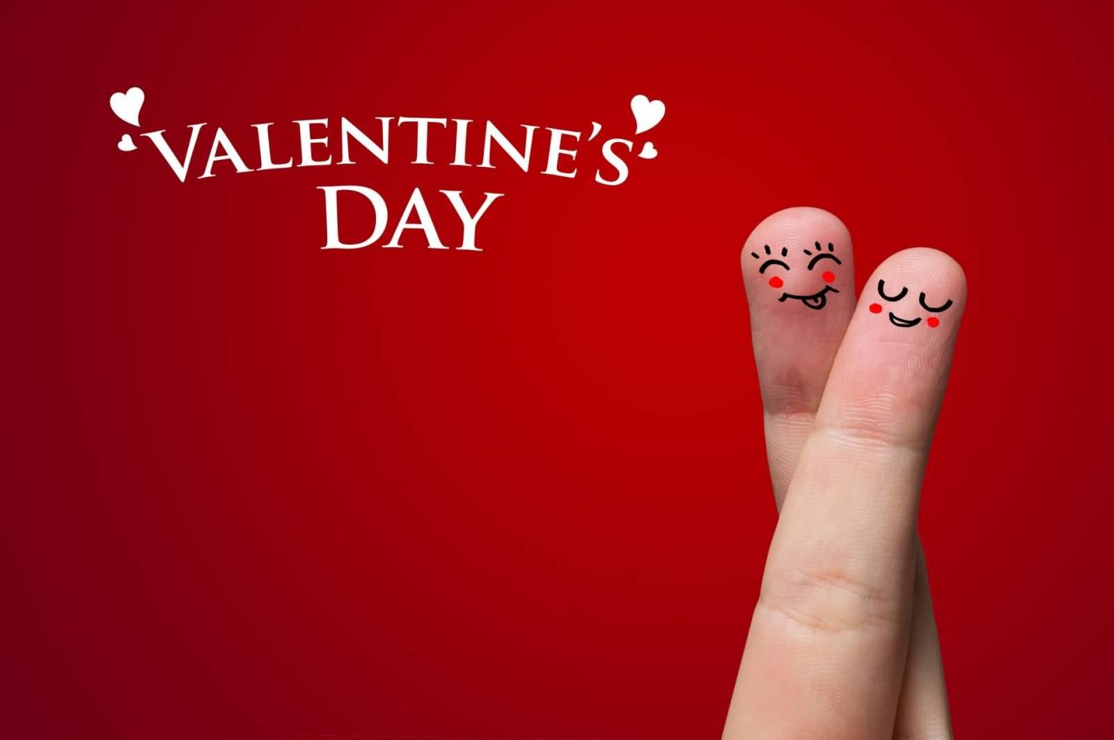 Valentine's Day Fingers Couple