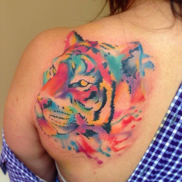 Tiger tattoo 22