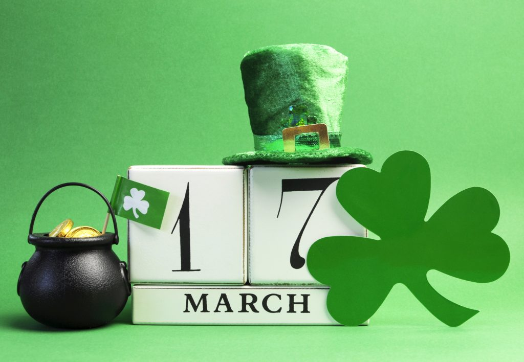 17 March Saint Patrick's Day