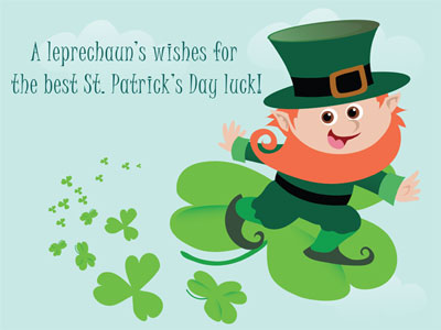 A Leprechaun's Wishes For The Best Saint Patrick's Day Luck