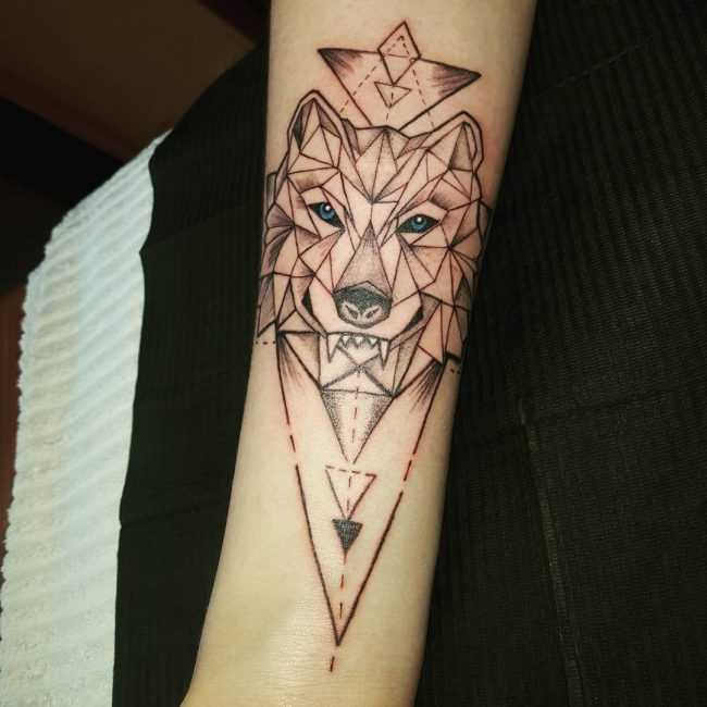 Mandala Wolf Tattoo Designs For Women I Like The: 57+ Best Wolf Tattoos Pictures And Ideas