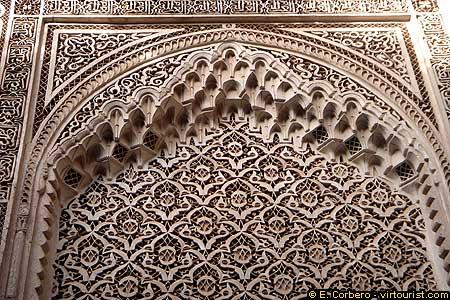 Некоторые из дворцов и резиденций Монархов. Марокко архитектура