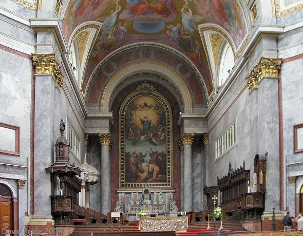50 Incredible Inside View Of The Esztergom Basilica In Hungary