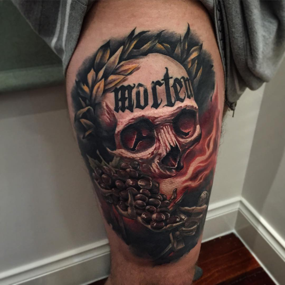 Tattoo Designs Skull: Benjamin Laukis Tattoos