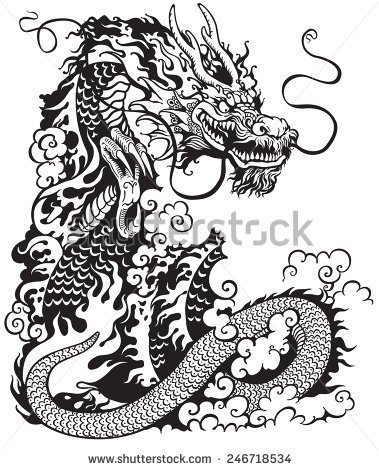 53 most beautiful chinese dragon tattoos designs amazing black ink chinese dragon tattoo design maxwellsz