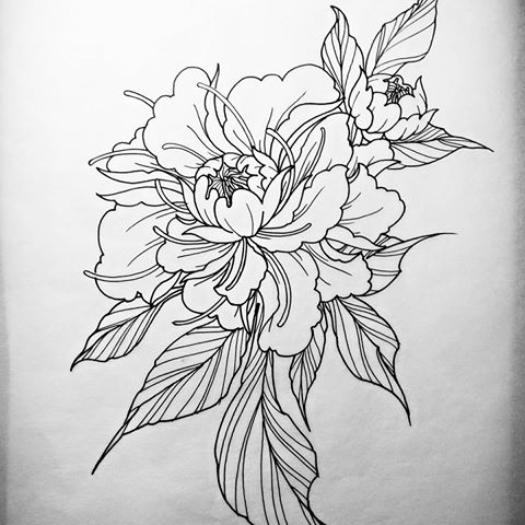 Peony Flower Tattoo Designs - Life Style By Modernstork.com
