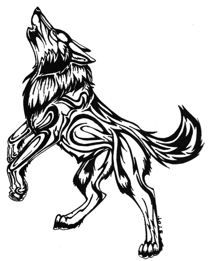 Amazing Wolf: 42+ Latest Wolf Tattoos Designs