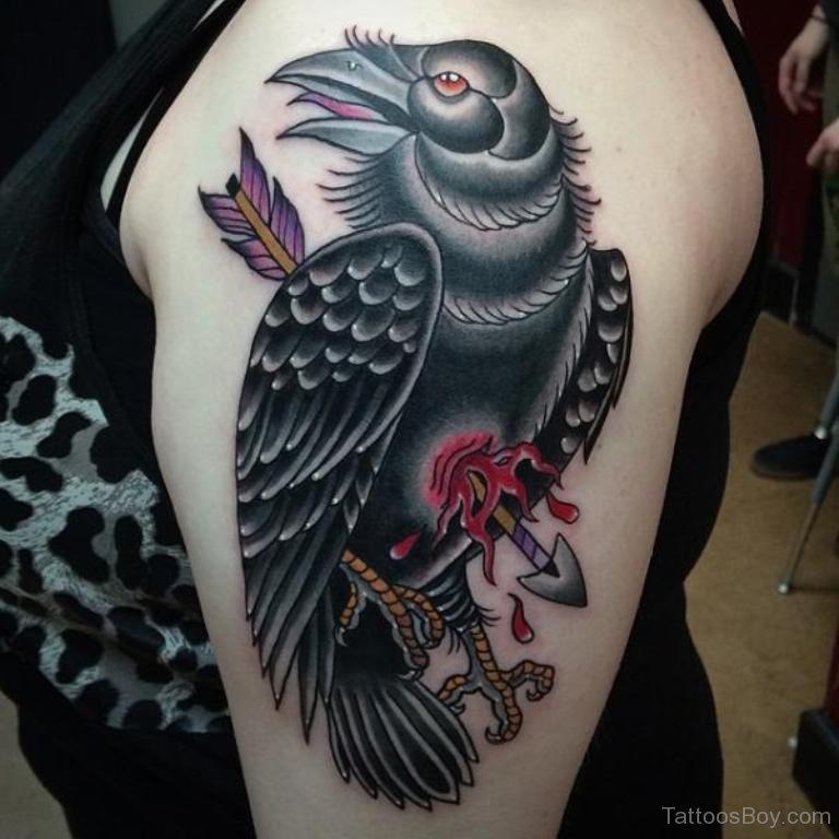 Corvo Mask Tattoo Design