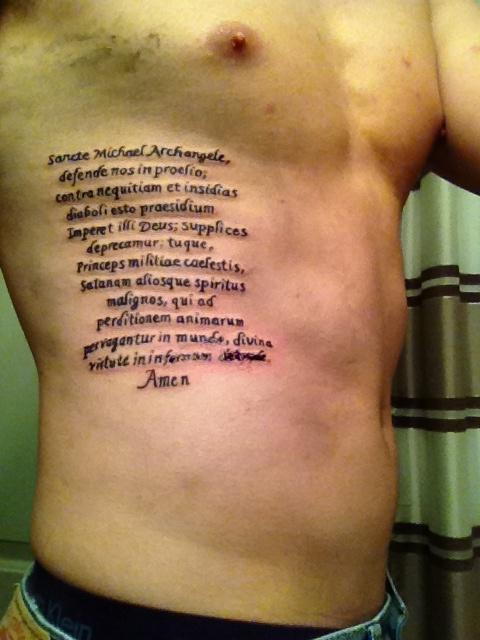 27 Perfect St Michael Tattoo Designs - SloDive